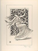 Dancing Nymph (Nymphe Danseuse) (from L'Estampe originale, Album IX)