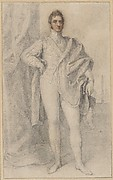 Portrait of George, 5th Duke of Marlborough, with Blenheim in the Distance