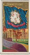 Connecticut, from Flags of the States and Territories (N11) for Allen & Ginter Cigarettes Brands