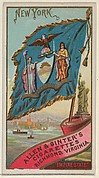 New York, from Flags of the States and Territories (N11) for Allen & Ginter Cigarettes Brands