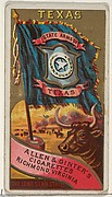 Texas, from Flags of the States and Territories (N11) for Allen & Ginter Cigarettes Brands