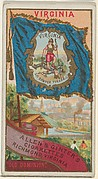 Virginia, from Flags of the States and Territories (N11) for Allen & Ginter Cigarettes Brands