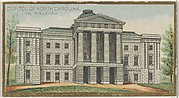 Capitol of North Carolina in Raleigh, from the General Government and State Capitol Buildings series (N14) for Allen & Ginter Cigarettes Brands