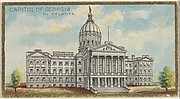 Capitol of Georgia in Atlanta, from the General Government and State Capitol Buildings series (N14) for Allen & Ginter Cigarettes Brands