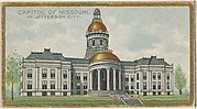 Capitol of Missouri in Jefferson City, from the General Government and State Capitol Buildings series (N14) for Allen & Ginter Cigarettes Brands