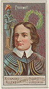 Oliver Cromwell, from the Great Generals series (N15) for Allen & Ginter Cigarettes Brands
