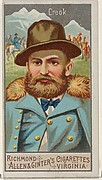 George R. Crook, from the Great Generals series (N15) for Allen & Ginter Cigarettes Brands