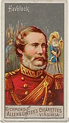 Henry Havelock, from the Great Generals series (N15) for Allen & Ginter Cigarettes Brands