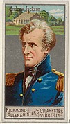 Andrew Jackson, from the Great Generals series (N15) for Allen & Ginter Cigarettes Brands