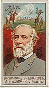 Robert Edward Lee, from the Great Generals series (N15) for Allen & Ginter Cigarettes Brands