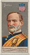 William Tecumseh Sherman, from the Great Generals series (N15) for Allen & Ginter Cigarettes Brands