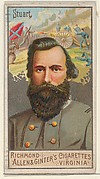 "James Ewell Brown ""Jeb"" Stuart, from the Great Generals series (N15) for Allen & Ginter Cigarettes Brands"