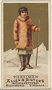 Eskimo, from the Natives in Costume series (N16) for Allen & Ginter Cigarettes Brands