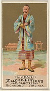 Japan, from the Natives in Costume series (N16) for Allen & Ginter Cigarettes Brands
