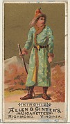 Kirghiz, from the Natives in Costume series (N16) for Allen & Ginter Cigarettes Brands
