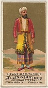 Zanzibar (Turk), from the Natives in Costume series (N16) for Allen & Ginter Cigarettes Brands