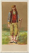 Bulgaria, from the Natives in Costume series (N16), Teofani Issue, for Allen & Ginter Cigarettes Brands