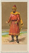 Circassia, from the Natives in Costume series (N16), Teofani Issue, for Allen & Ginter Cigarettes Brands