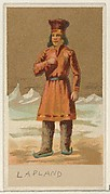 Lapland, from the Natives in Costume series (N16), Teofani Issue, for Allen & Ginter Cigarettes Brands