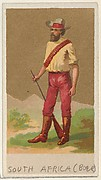 South Africa (Boer), from the Natives in Costume series (N16), Teofani Issue, for Allen & Ginter Cigarettes Brands