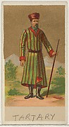 Tartary, from the Natives in Costume series (N16), Teofani Issue, for Allen & Ginter Cigarettes Brands