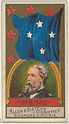 Admiral, United States, from the Naval Flags series (N17) for Allen & Ginter Cigarettes Brands