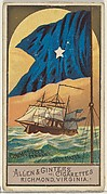Commodore's Pennant, United States, from the Naval Flags series (N17) for Allen & Ginter Cigarettes Brands