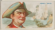 Howell Davis, Taking a Dutch Treasure Ship, from the Pirates of the Spanish Main series (N19) for Allen & Ginter Cigarettes