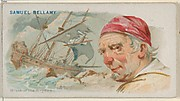 Samuel Bellamy, Wreck of the Whydah, from the Pirates of the Spanish Main series (N19) for Allen & Ginter Cigarettes