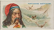 Portuguese Barthelemy, The Wreck, from the Pirates of the Spanish Main series (N19) for Allen & Ginter Cigarettes