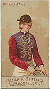 H.R.H. Prince of Wales, from the Racing Colors of the World series (N22b) for Allen & Ginter Cigarettes