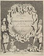 Veelderhande Niewe Compartimente (Titlepage in Dutch)
