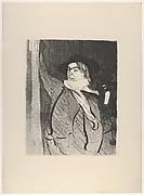 Aristide Bruant (from Le Café Concert)