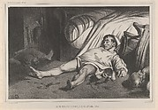 Rue Transnonain,  le 15 Avril, 1834, Plate 24 of l'Association mensuelle