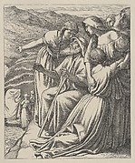The Passage of the Jordan (Dalziels' Bible Gallery)