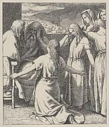 The Daughters of Zelophehad (Dalziels' Bible Gallery)