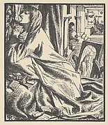 "Mariana in the South (Illustration for ""The Palace of Art"" in Tennyson's Poems, New York, 1903)"