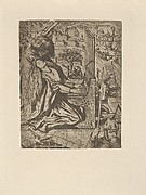 St. Cecily / Cecilia (related to illustration for The Palace of Art in Tennyson's Poems, New York, 1903)