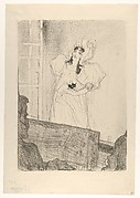 Miss May Belfort (Medium Plate)