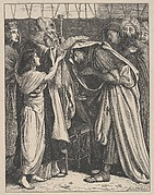 Melchizedek Blesses Abram (Dalziels' Bible Gallery)