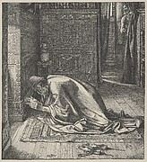 Daniel's Prayer (Dalziels' Bible Gallery)