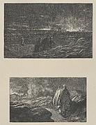 The Destruction of Sodom–Abraham Looking Towards Sodom (Dalziels' Bible Gallery)