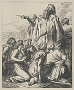 Noah's Sacrifice (Dalziels' Bible Gallery)
