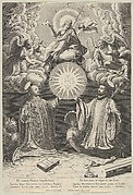 Christ, Ignatius of Loyola and Francis Xavier