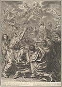 The Ascension of Christ, from The Passion of Christ, plate 31