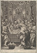The Last Supper, from The Passion of Christ, plate 5