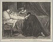 The Death of Christopher Columbus (from Le Monde Illustré)