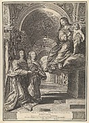 Louis XIII and Anne of Austria Presenting the Dauphin to the Virgin