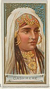 Cashmere, from the Types of All Nations series (N24) for Allen & Ginter Cigarettes