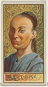 China, from the Types of All Nations series (N24) for Allen & Ginter Cigarettes